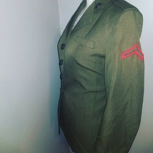 Green Stylish Military Jacket